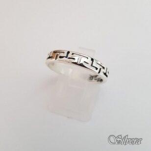 Sidabrinis žiedas Z1243; 17 mm