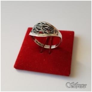 Sidabrinis žiedas Z1076; 21 mm