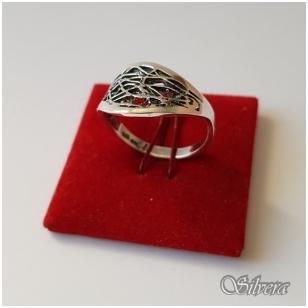 Sidabrinis žiedas Z1076; 18,5 mm
