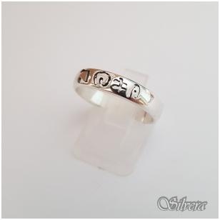 Sidabrinis žiedas Z1096; 18,5 mm