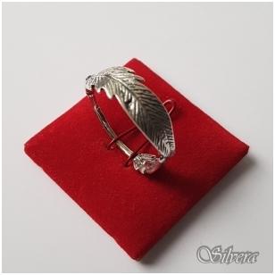 Sidabrinis žiedas Z1237; 21 mm
