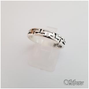 Sidabrinis žiedas Z1243; 18 mm