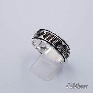 Sidabrinis žiedas Z199; 21,5 mm