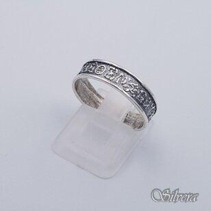Sidabrinis žiedas Z203; 18,5 mm
