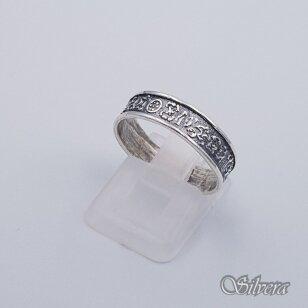 Sidabrinis žiedas Z203; 19 mm