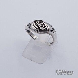 Sidabrinis žiedas Z227; 19 mm