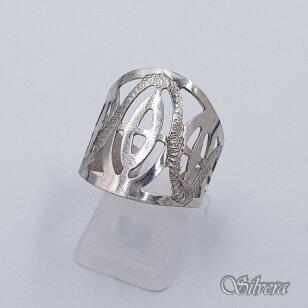 Sidabrinis žiedas Z238; 19 mm