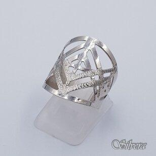 Sidabrinis žiedas Z239; 17,5 mm