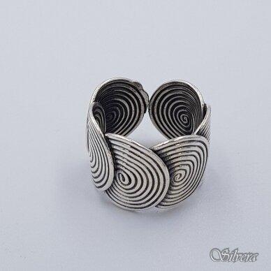 Sidabbbrinis žiedas Z236; 18 mm 2