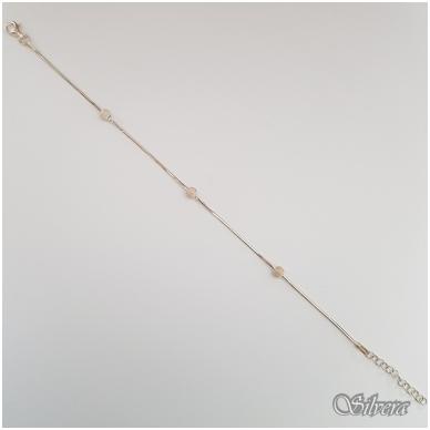 Sidabrinė apyrankė AF53; 18-20 cm 2