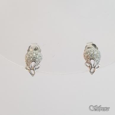 Sidabriniai auskarai su cirkoniais Au2167