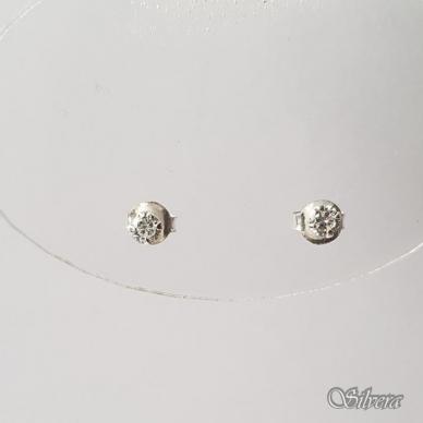 Sidabriniai auskarai su cirkoniu Au202 2