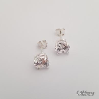 Sidabriniai auskarai su cirkoniu Au227