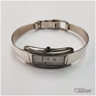 Sidabrinis laikrodis su cirkoniu L01 2