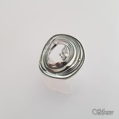 Sidabrinis žiedas su cirkoniu Z1325; 18,5 mm