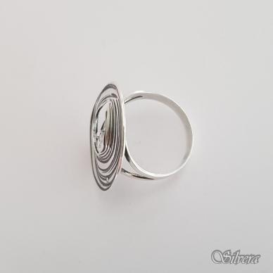 Sidabrinis žiedas su cirkoniu Z1325; 18,5 mm 3
