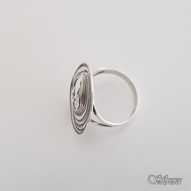 Sidabrinis žiedas su cirkoniu Z1325; 19,5 mm 3