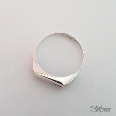 Sidabrinis žiedas su cirkoniu Z175; 22 mm 2