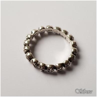 Sidabrinis žiedas Z031; 22,5 mm 2