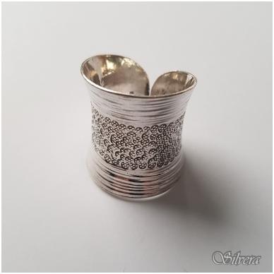 Sidabrinis žiedas Z037; 18 mm 3