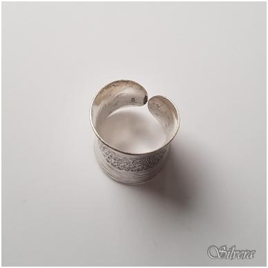 Sidabrinis žiedas Z037; 18 mm 2