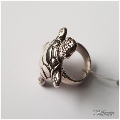 Sidabrinis žiedas Z047; 17 mm 3