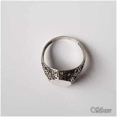 Sidabrinis žiedas Z048; 22 mm 3