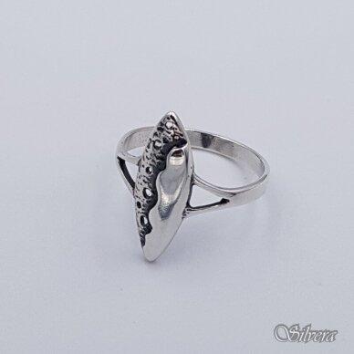 Sidabrinis žiedas Z058; 18 mm 2
