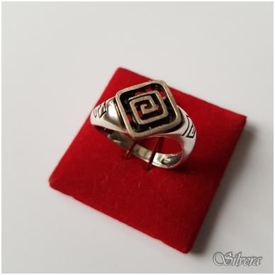 Sidabrinis žiedas Z059; 18,5 mm
