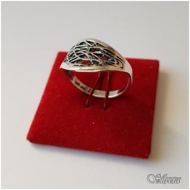 Sidabrinis žiedas Z1076; 17,5 mm