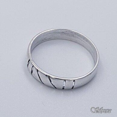 Sidabrinis žiedas Z1097; 17 mm 2