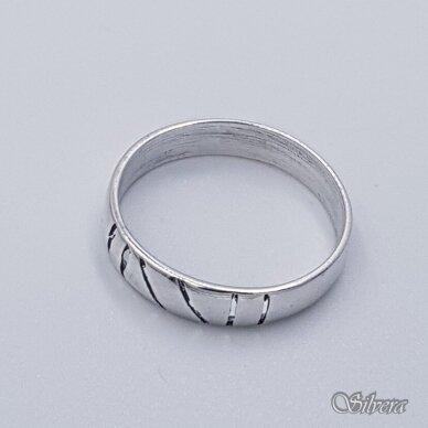 Sidabrinis žiedas Z1097; 19 mm 2