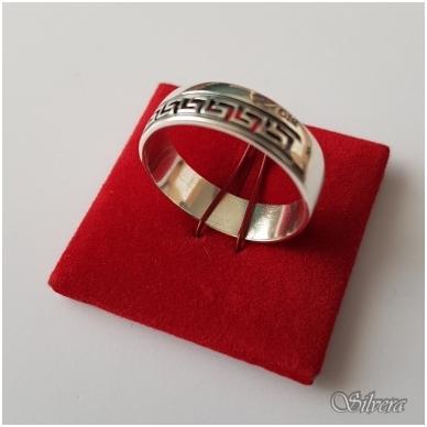 Sidabrinis žiedas Z1120; 20 mm
