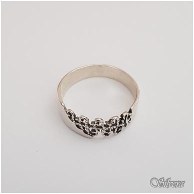 Sidabrinis žiedas Z1122; 18 mm 2