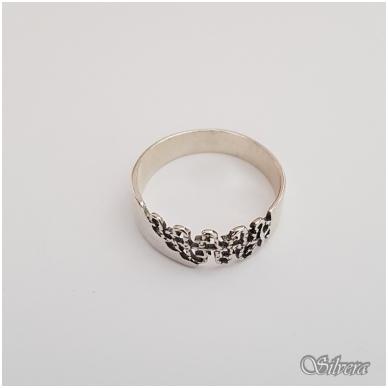Sidabrinis žiedas Z1122; 19 mm 2