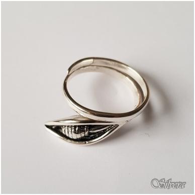 Sidabrinis žiedas Z1126; 19 mm 2