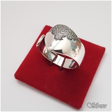 Sidabrinis žiedas Z1171; 18 mm