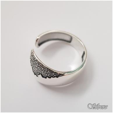 Sidabrinis žiedas Z1171; 18 mm 2