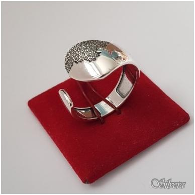 Sidabrinis žiedas Z1171; 18 mm 3