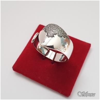 Sidabrinis žiedas Z1171; 19,5 mm