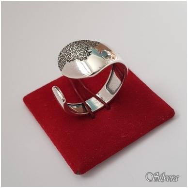 Sidabrinis žiedas Z1171; 19,5 mm 3