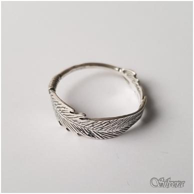 Sidabrinis žiedas Z1237; 19 mm 2