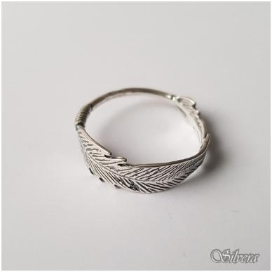 Sidabrinis žiedas Z1237; 21 mm 2
