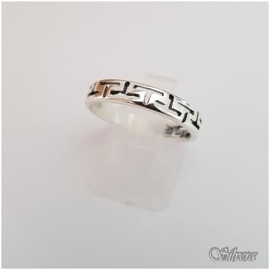 Sidabrinis žiedas Z1243; 18,5 mm