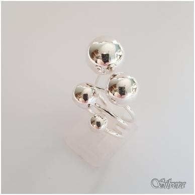 Sidabrinis žiedas Z140; 18 mm 3