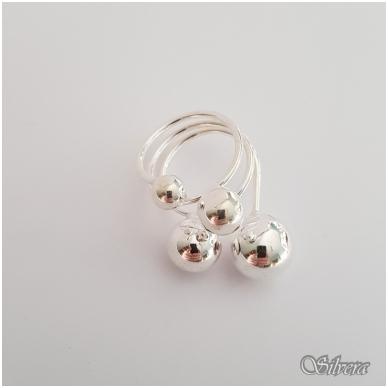 Sidabrinis žiedas Z140; 18 mm