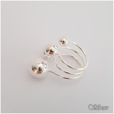 Sidabrinis žiedas Z140; 19 mm 2