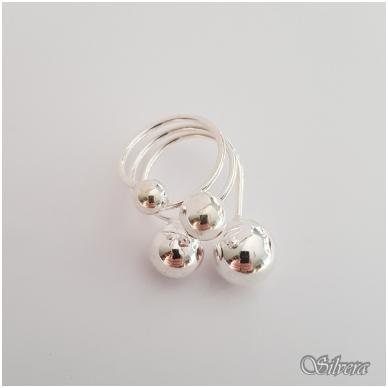 Sidabrinis žiedas Z140; 19 mm