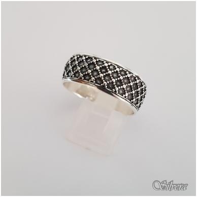 Sidabrinis žiedas Z141; 20 mm