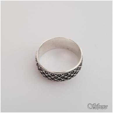 Sidabrinis žiedas Z141; 20 mm 2